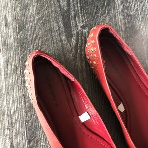 Mossimo Supply Co. Shoes - Mossimo Supply Co • Maroon embellished flats